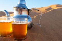 Mint tea in the desert